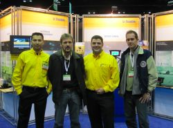The Trimble Team: Sergio Lucas, Vilson Hansen, Guillermo Perez-Iturbe and Rafeal Bull