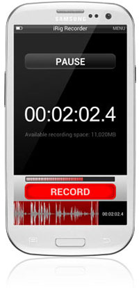 iRig Recorder Android