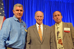 Mark Mackey, Gov. Robert Bentley, Tim Starks