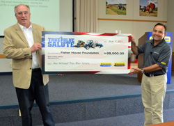 New Holland Fisher House Foundation Donation