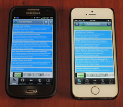 galaxy s4 mini vs iphone 5s