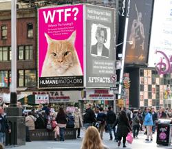 HumaneWatch Billboard