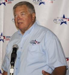 NPPC president Howard Hill