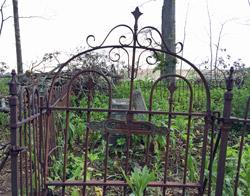 Cemetery at Crystal Pig Hunt Club