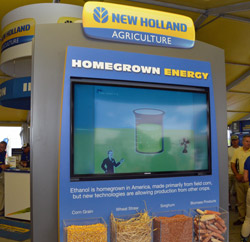 New Holland Supports Ethanol