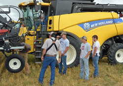 New Holland Harvest Support