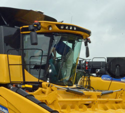 New Holland CR Combine Cab