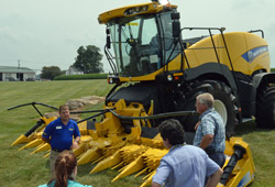 New Holland FR Harvester