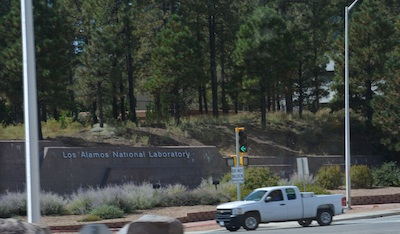 Los Alamos National Laboratory Sign