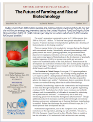 NCPA Future of Farming and Rise of Biotech Report