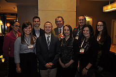 ASTA FuSE members with Bill Whitacre, president and CEO of Simplot