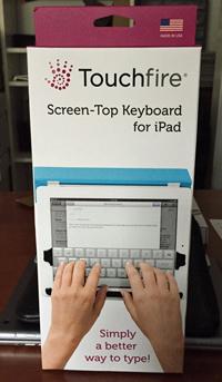 Touchfire Keyboard for iPad