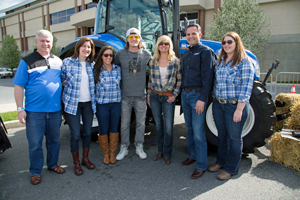 New Holland Team with Tyler Hubbard