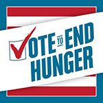 Vote to End Hunger Logo