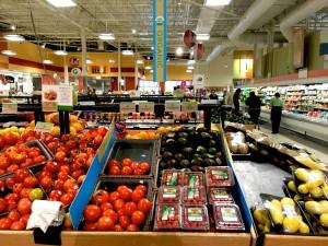 Organic vegetables at a Kroger store in Smyrna, Georgina. Photo Credit: Joanna Schroeder