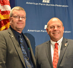 AFBF VP Scott VanderWal and President Zippy Duvall