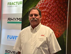 FMC's Tim Ksander explains how Rhyme is tough on powdery mildew during the 2016 CAPCA Conference.