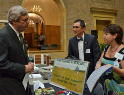 USDA Secy Vilsack learns about biobased artificial grass