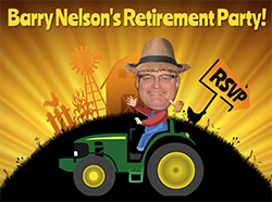 Barry Nelson Retirement Party