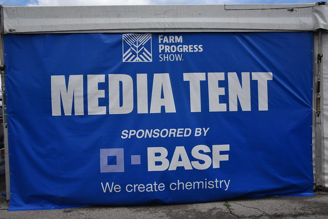 BASF Sponsors Media Tent at FPS19 | AgWired